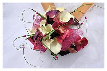 photographe mariage lyon bouquet de mariee