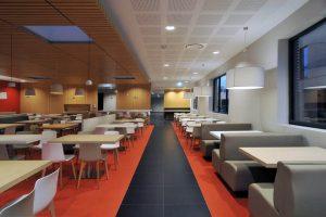 accès espace restaurant entreprise