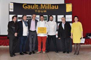 remise de prix evenement culinaire professionnel