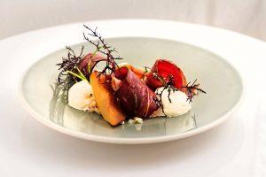 photo culinaire presentation assiette
