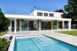 maison contemporaine de prestige avec piscine
