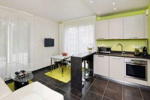 espace cuisine petit appartement