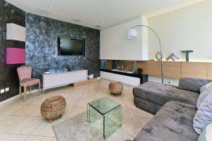 espace television maison decoration atypique