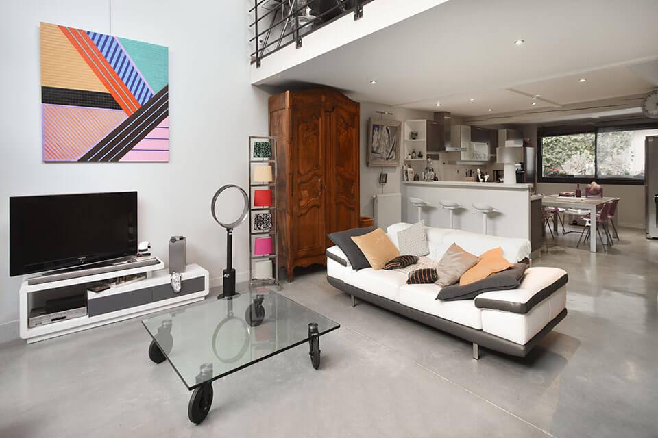 loft decoration moderne