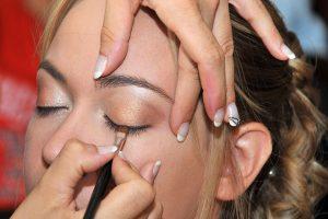 preparatifs de la mariee maquillage des yeux