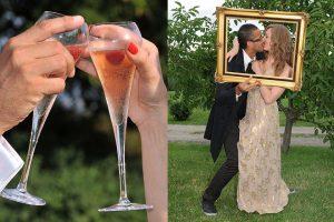 illustration cocktail vin honneur mariage